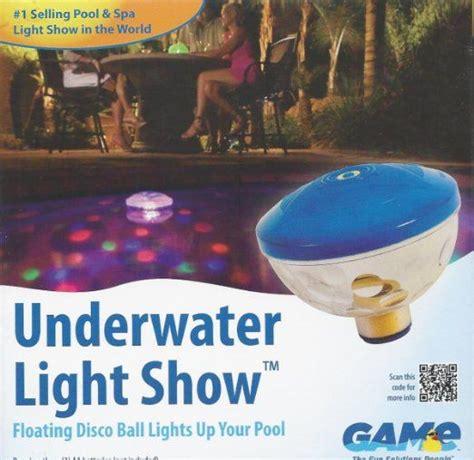 floating pool lights amazon amazon com swimming pool floating disco ball underwater