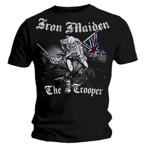 Tshirt Vintage All 88 official t shirt iron maiden watermark sketched trooper
