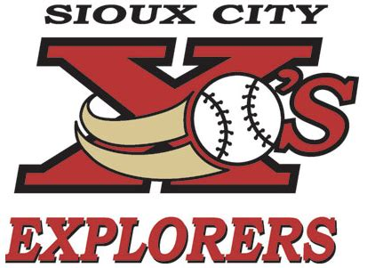 Kaos Olahraga Hockey Fargo Logo Primary tim colwell leads six run seventh to give explorers 13 5 victory minor league sports report