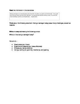 9th Grade Persuasive Essay by 9th Grade Persuasive Essay