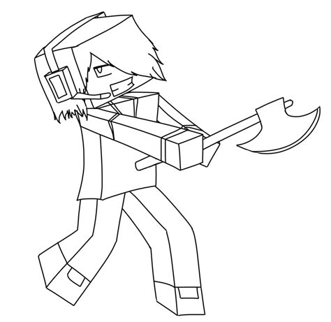 skydoesminecraft free coloring pages
