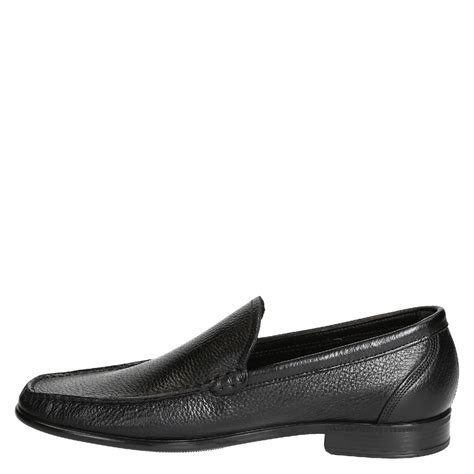 leather loafers for black grain leather loafers for leonardo handmade