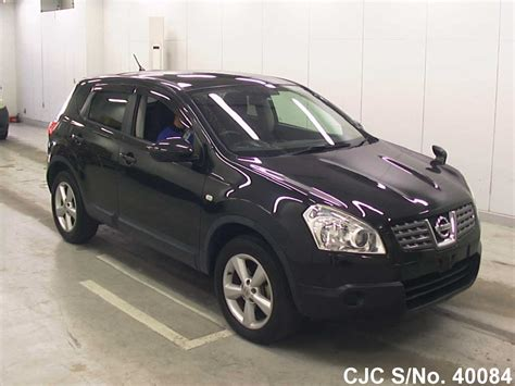 nissan dualis black 2008 nissan dualis black for sale stock no 40084
