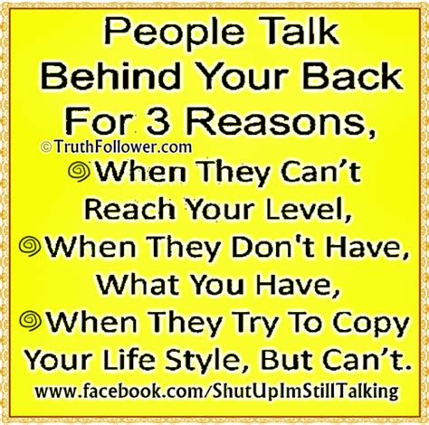 quotes about people who talk behind your back quotesgram