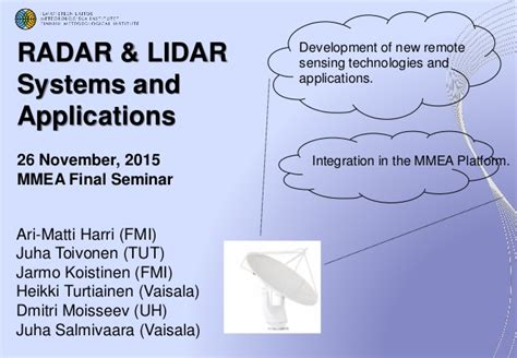lidar remote sensing and applications remote sensing applications series books probing the atmosphere new radar lidar technologies