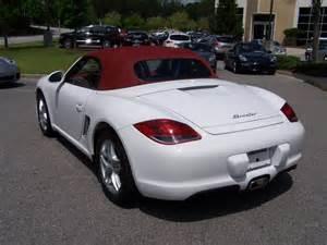 White Porsche Boxster 2012 Porsche Boxster In White With