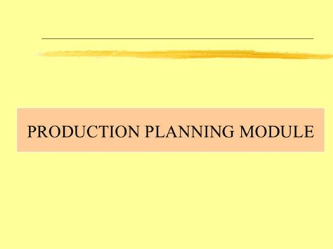 House Plan Shop Sap Production Planning