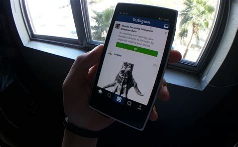 mobile version instagram for windows 10 mobile updated to new version