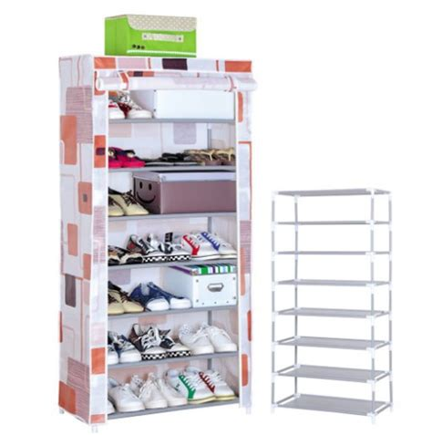 Shoe Rack Plastic by Outdoor Creative Foldable Plastic Shoe Rack In Singapore