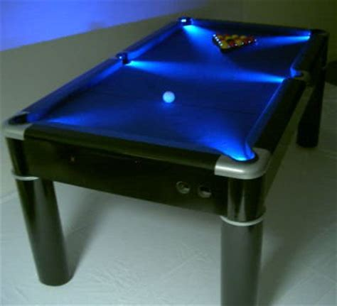 led pool table light strikeworth 6 pool table with led lighting
