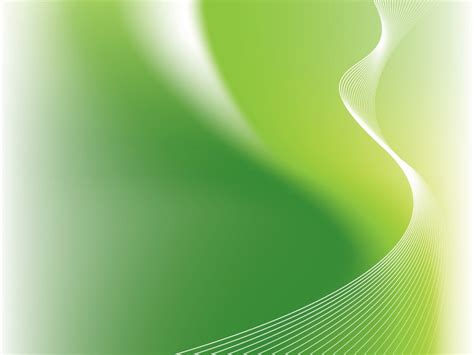 Abstract Green Glow Waves Powerpoint Templates Abstract How To Print Background Color In Word 2010lL