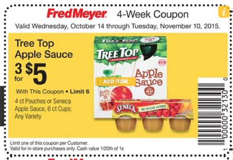 fred meyer winco tree top pouches 67 frugal living nw