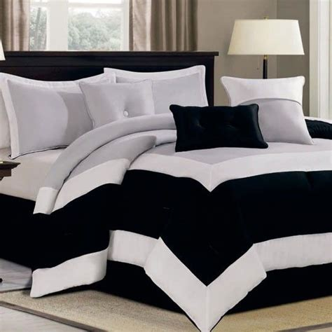Black And Grey Bed Sets Comforter Sets Comforter And Grey On Pinterest