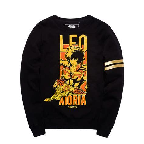 Hoodie Pika Leo Cloth seiya leo hoodies black sweatshirt wishining
