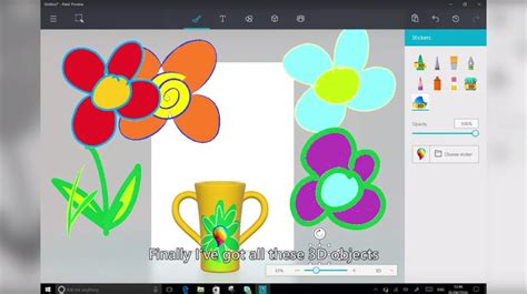 we tested the ms paint 3d preview here s what we think leaked videos may be preview of microsoft s october