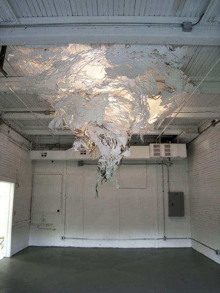 How To Make A Paper Tornado - pearlman s tornado of cut paper beautiful decay