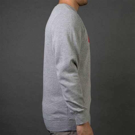 Sweater Fourspeed undefeated speed tone crew sweater gray