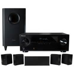 pioneer htp 071 5 1 home theater system with receiver htib