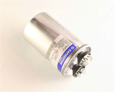 trane ac start capacitor 2 pcs of ge 5uf 370vac motor run capacitors trane ac unit replacements ebay