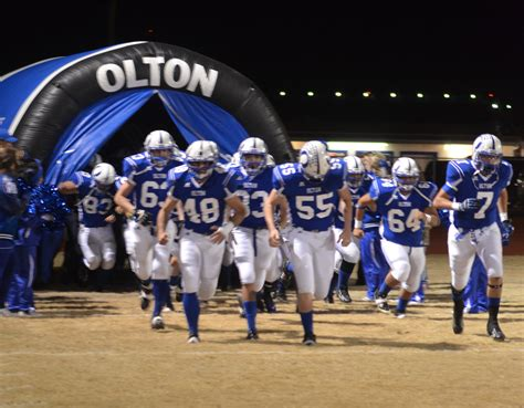 olton isd mustangs football team make the playoffs