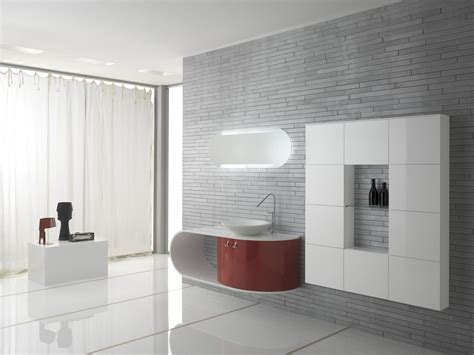 wondrous modern vanity bathroom with single bowl sink as