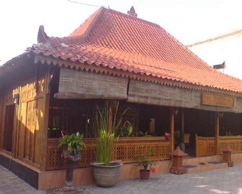 model teras rumah jawa kuno