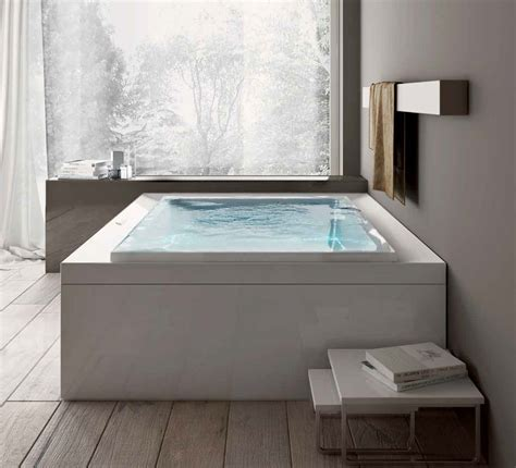 built in bathtub built in hydromassage infinity bathtub design wooden floor