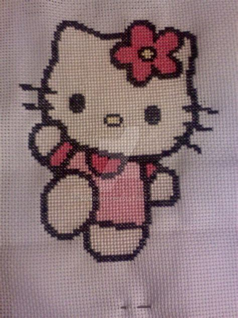 hello kitty cross stitch hello kitty cross stitch by kenric02 on deviantart