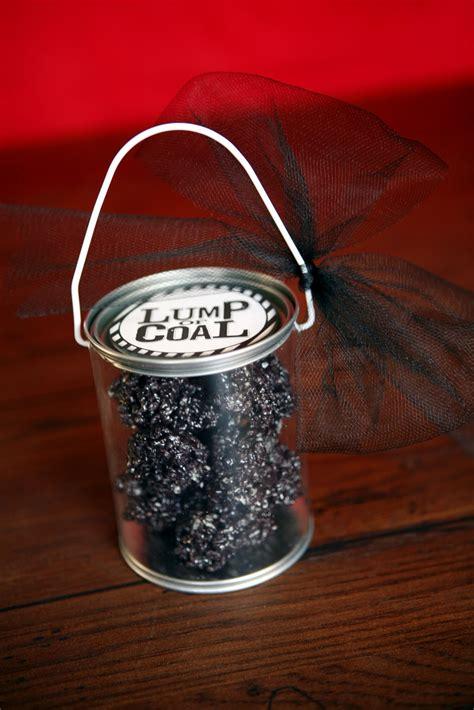 lump  coal fun gift idea   printable