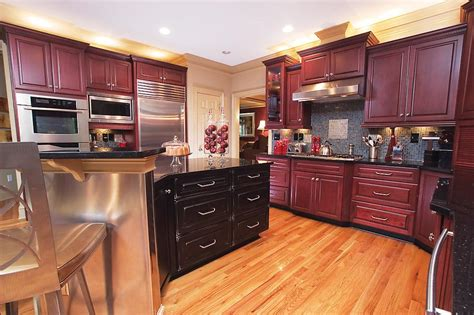 tips for the latest kitchen design trends homehub maroon kitchen designs quicua com