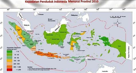 Kegunaan Bps peta kependudukan peta tematik indonesia