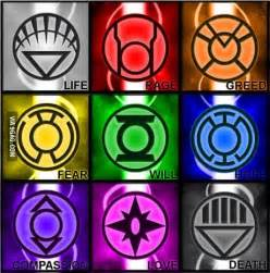 lantern corps colors 1000 ideas about green lantern on