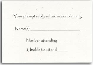 what to write on a blank wedding rsvp card rsvp cards