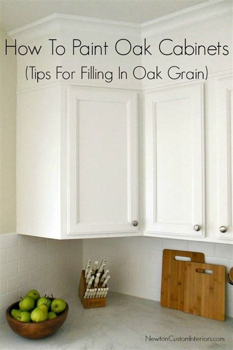 how to paint oak cabinets white without grain showing how to paint oak cabinets white with grain showing