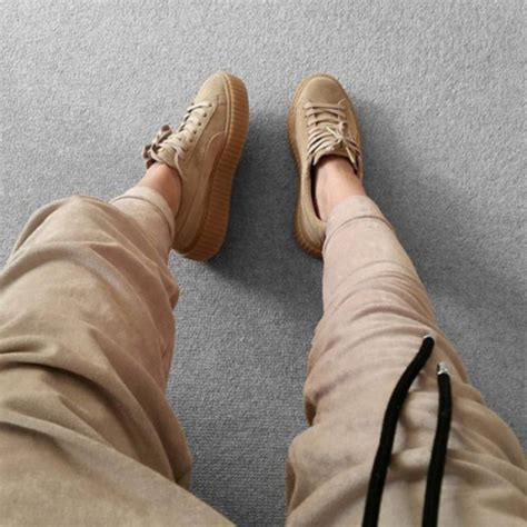 Forum Office Chairs Shoes Puma Suede Beige Sneakers Wheretoget