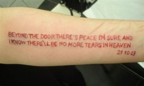 tattoo quotes about death suicide tattoo quotes quotesgram