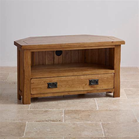 solid wood corner media cabinet original rustic corner tv cabinet in solid oak