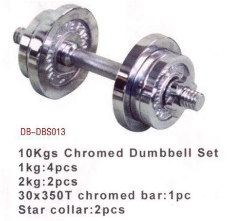 Dumble Set 10kg Chrome china 10kg chrome dumbbell set db dbs013 china dumbbell chrome dumbbell set