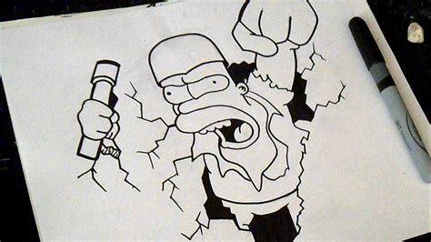 imagenes para dibujar homer como desenhar homer simpson youtube