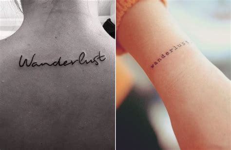 minimal tattoo of ideas and imagination