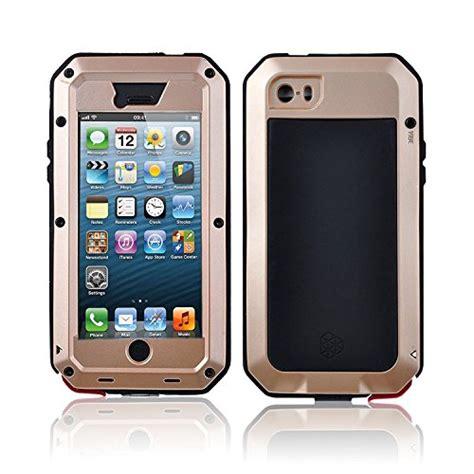 Bumper Armor Polycarbonate Heavy Casing Iphone 5 5s 5 Se carterlily waterproof shockproof aluminum gorilla glass