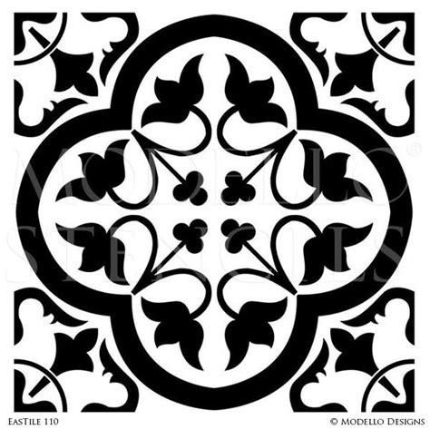 pattern tile stencils tile stencils tagged quot exotic east stencils quot modello