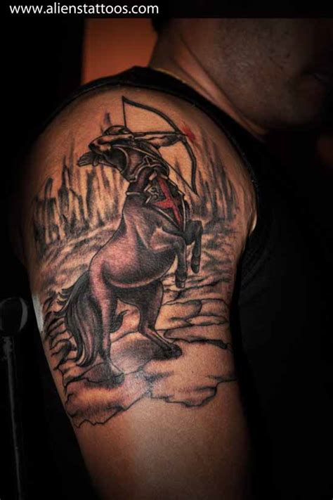 sagittarius tribal tattoo designs