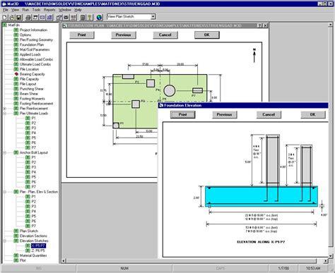 chempute software complete foundation design