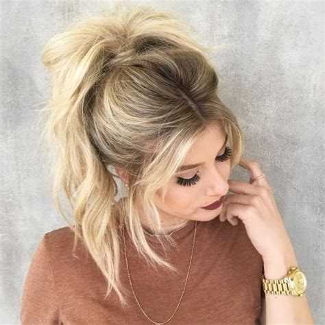 hair in pony tail with bangs the 20 most alluring ponytail hairstyles