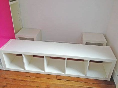 ikea hack bed bridge bookcase 46 best kallax hacks images on pinterest home ideas