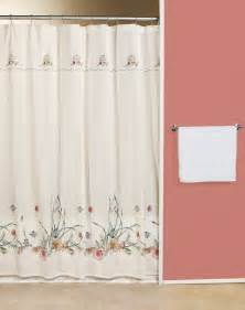 shower curtains seashells rumah minimalis