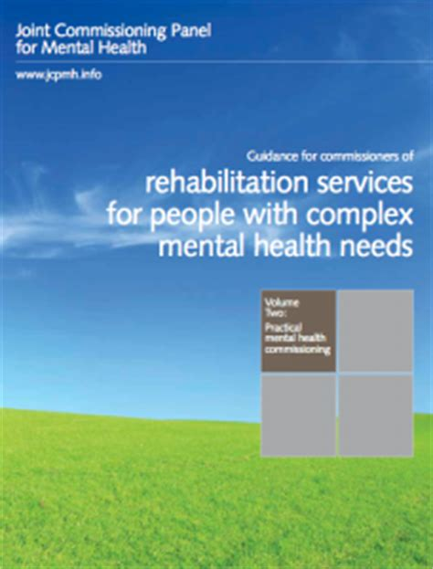section 126 mental health act guidance for commissioners of rehabilitation services for