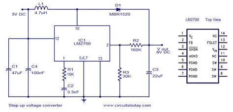 how to step dc voltage using resistors step up voltage converter dc to dc