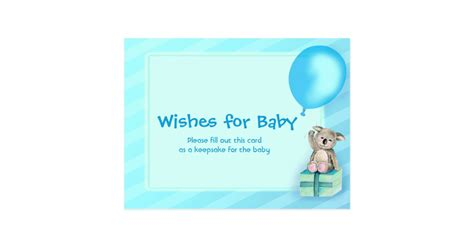 Baby Shower Wishes For Baby Boy by Wishes For Baby Boy Koala Baby Shower Postcard Zazzle